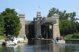 The Peterborough Lift Lock